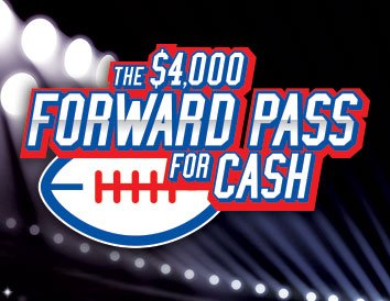 The $4,000 Forward Pass for Cash