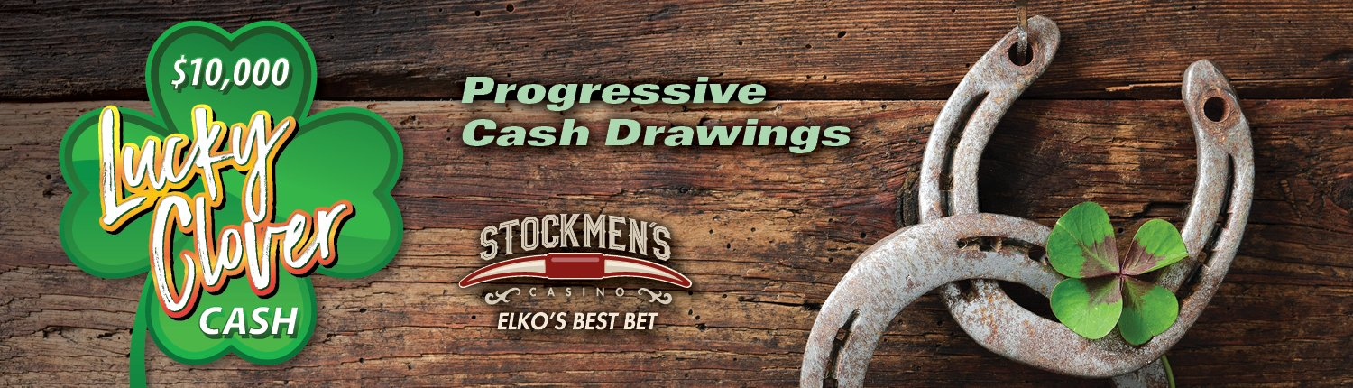 $10,000 Lucky Clover Cash | Progressive Cash Drawings